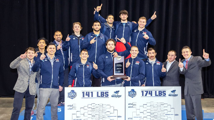 Cougars Wrestling Win National Championship
